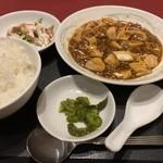 中国料理 白鳳 - 麻婆豆腐のランチ(1,080円)