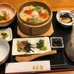 レストラン日本海 - 真鯛せいろ御膳1620円