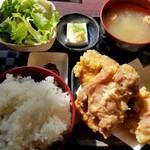 107759805 - からあげ定食 930円 (1日限定10食)