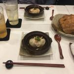 107764706 - 旬菜:オオエンコウ蟹 新玉ねぎ 花山椒