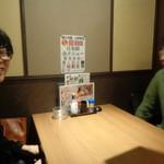 koshitsuizakayatorijuubee - 半個室に着席です