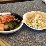 松蘭 - キムチ&ナムル他 ※松蘭コース