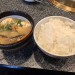 松蘭 - ご飯とスープは相性が良い