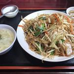 栄記香辣坊 - 上海焼きそば定食