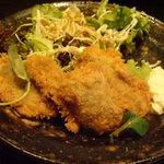 あなぼこ - 牡蠣フライ