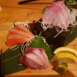 北海道 海鮮居酒屋 魚人  - 刺身3点盛