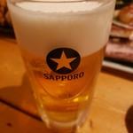 北海道 海鮮居酒屋 魚人  - ビール