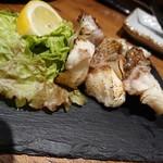藁焼き 日本酒処 龍馬 - 鶏肉の〇〇