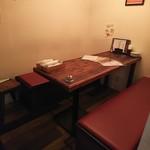 炭焼きBAR MIYAICHI - 半個室