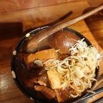 鎌倉酒店 - 牛すじ肉豆腐+煮玉子