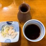 天祥庵 - 薬味とつゆ