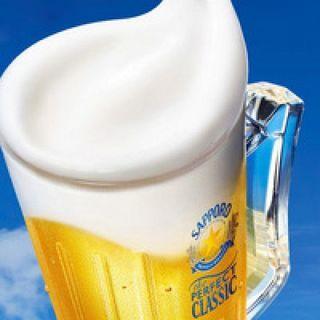 パーフェクトクラシックを始め、北海道のお酒を提供しています♪