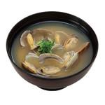 魚べい - 料理写真:あさりの味噌汁