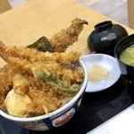 日本橋天丼 金子屋 - 江戸前天丼 みそ汁付き