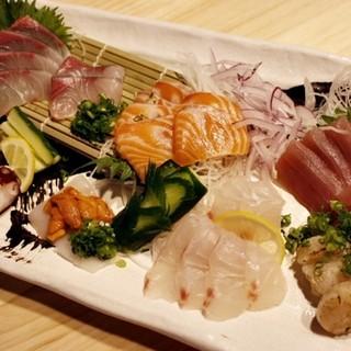 ◆新鮮な鮮魚の造りをお楽しみください