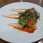 107794883 - ランチ②(桜海老のマリネと鎌倉野菜のサラダ)