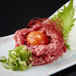 看板料理は『幻のユッケ』『ハラミ』『タン』必食です!