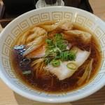 107795236 - 海老ワンタン醤油らぁ麺