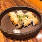 とう間 - うなぎの天ぷら