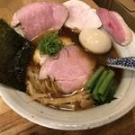 中華そば きなり - 料理写真:味玉肉増し中華そば 1,080円