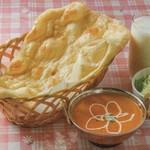 インド・ネパールレストラン プルニマ - 料理写真:チキンカレーセット
