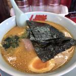 ラーメン山岡家 - 特製味噌チャーシュー¥970にJAF味玉