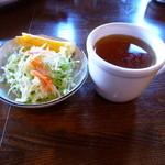 1078338 - サラダ、スープ