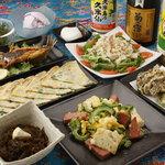 めんそーれ - 料理写真:宴会コース 飲み放題つき 3800円(税込)