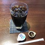 キッチン千賀 - ドリンク写真:アイスコーヒー(400円)