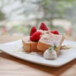MASA cafe - 料理写真:~ いちご ~☆