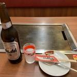 鶴橋風月 - 瓶ビール(大)