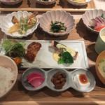 ネムノキ茶屋 - 料理写真:ねむのき夕膳