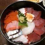 土産土法 さかな亭 - 海鮮丼 綺麗