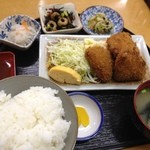 惣菜 おか - ミニトンカツ定食450円(第二回投稿分②)
