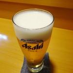 活魚料理仲の坂 - 生ビール