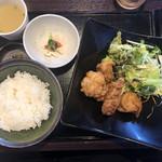 とり焼 かん美 - 鶏の甘辛あげ(900円)