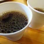 洋食のグルメ - セルフのコーヒー