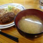 洋食のグルメ - お味噌汁