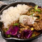 107819562 - 小松菜と牛肉のカシミールカレー