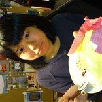 S.GRAVITY - 『1日1個限定☆生クリーム1kg(ホイップ1本)クレープ  1000円』持てきれないからお皿の上で。14分で御完食!有難うございました!