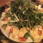 10782768 - 水菜とトマトのパリパリサラダ