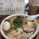 伊達屋 - チャーシュー麺1050円 煮卵100円