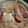 豊年屋そば処 - 料理写真:カツの断面