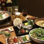 ふくのかみ - 料理写真:コース料理