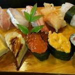 寿司と地魚料理 大徳家 - 特上寿司(2800円)