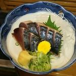 寿司と地魚料理 大徳家 - 地ガツオの刺身(1000円)