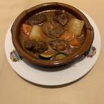 107828061 - 2の皿(仔牛と野菜の煮込み)