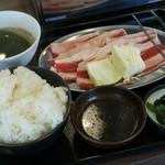 焼肉やまと - 料理写真:ランチカルビ定食