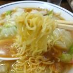 中華 こばやし - 縮れ麺