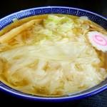 107830196 - ワンタン麺